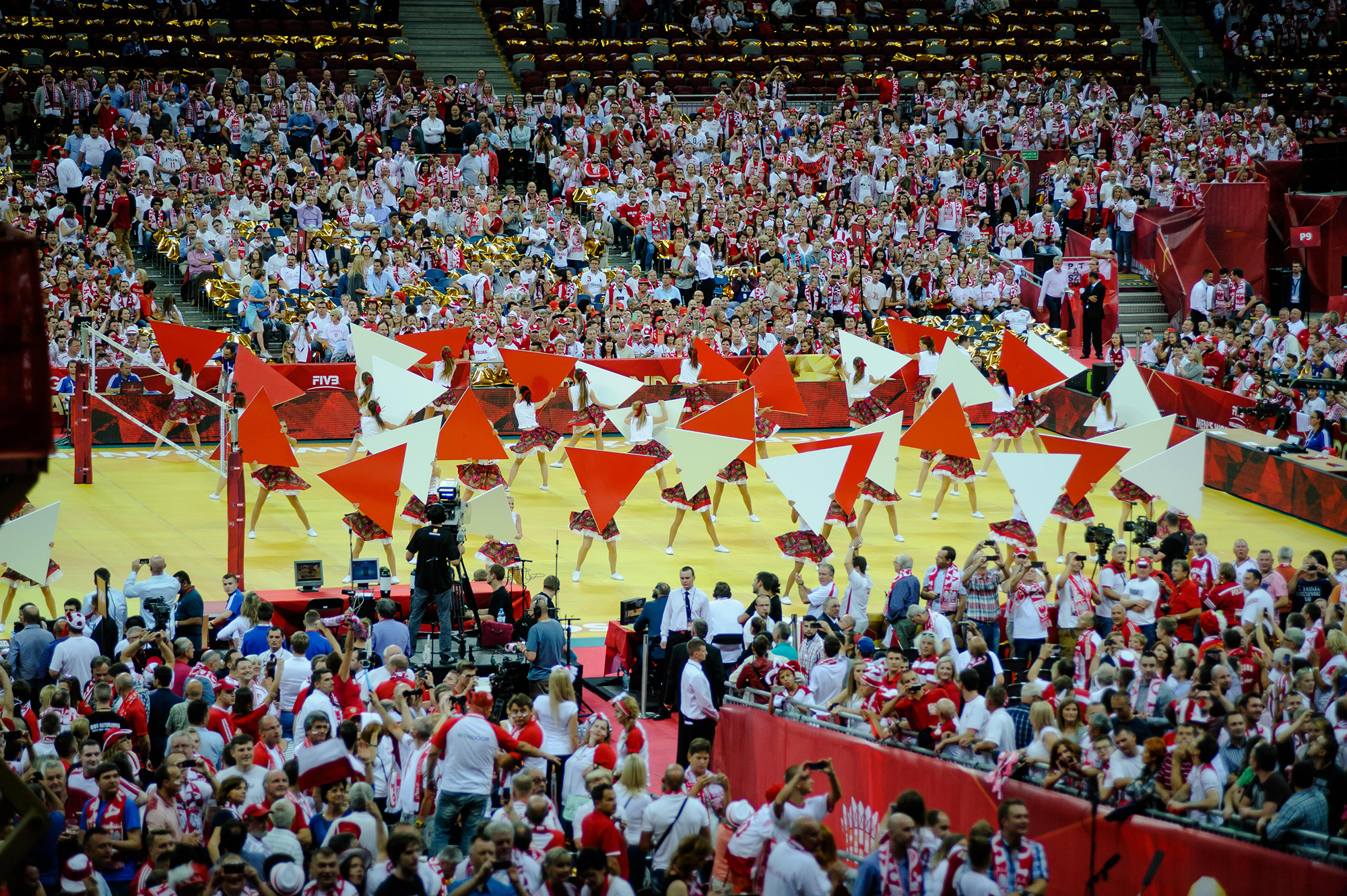 Ceremonia Otwarcia Mistrzostw Świata W Piłce Siatkowej Mężczyzn 2014 na Stadionie Narodowym w Warszawie