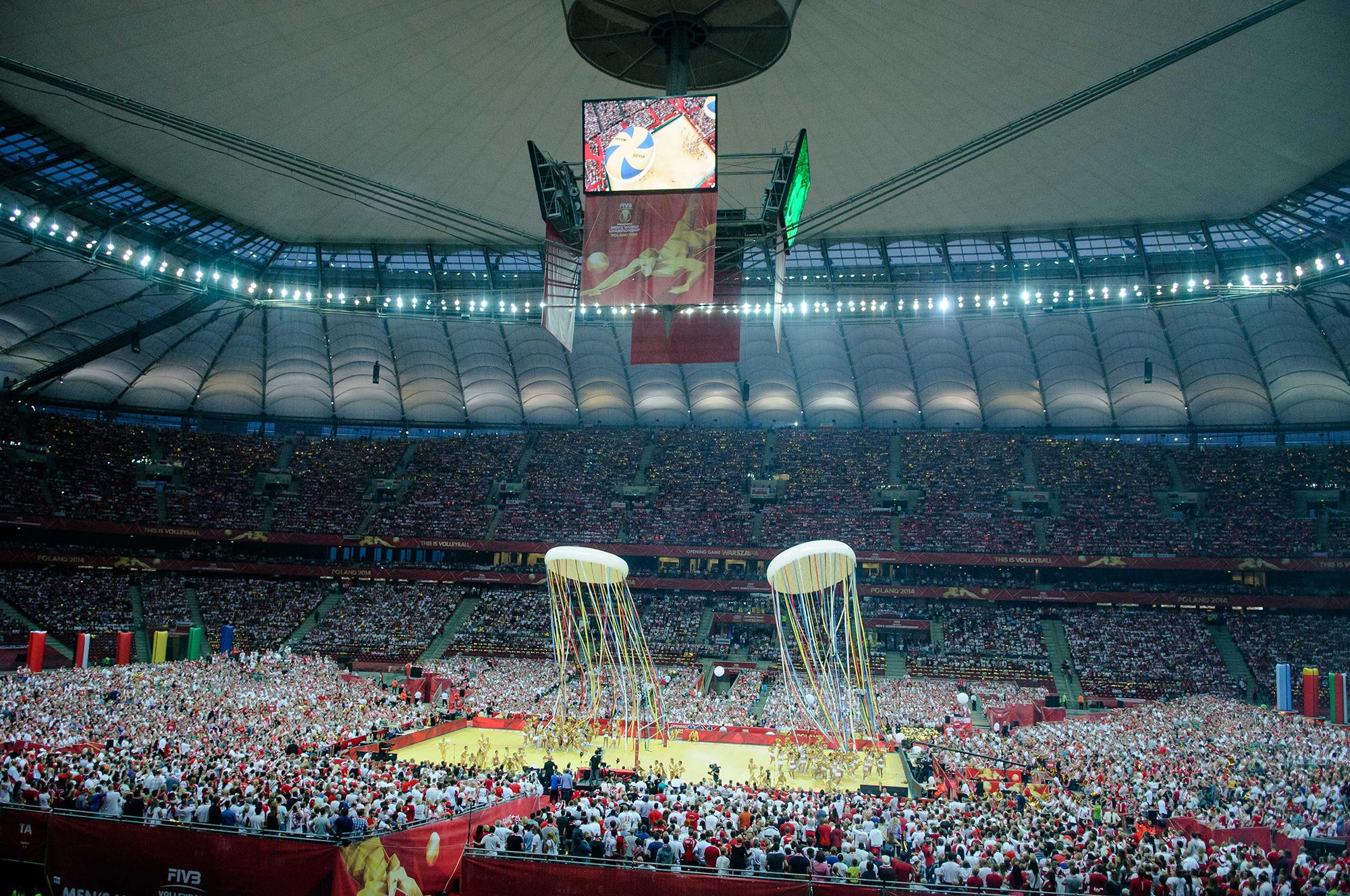 Ceremonia Otwarcia Mistrzostw Świata w Piłce Siatkowej
